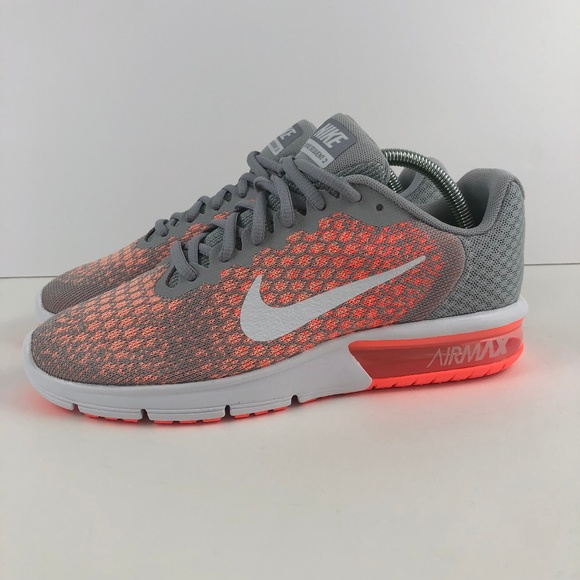 huge discount f1a86 1eddb NIKE AIR MAX SEQUENT 2 WOMEN S Cool Gray Mango